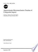 Approximate Micromechanics Treatise of Composite Impact Book
