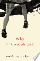 Why Philosophize