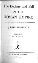 The Decline and Fall of the Roman Empire  180 A D  395 A D
