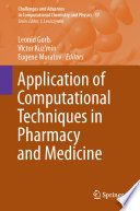 Application of Computational Techniques in Pharmacy and Medicine Book