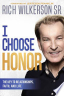 I Choose Honor Book