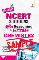 (Free Sample) Errorless NCERT Solutions with 100% Reasoning for Class 12 Chemistry