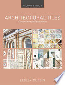 Architectural Tiles Conservation And Restoration Book PDF