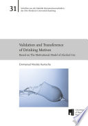 Validation and Transference of Drinking Motives