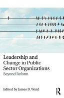 Leadership and Change in Public Sector Organizations Pdf/ePub eBook