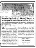 National Wetlands Newsletter