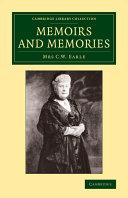 Memoirs and Memories