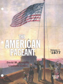 American Pageant   Lms Integrated for Mindtap History  1 term Access