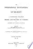The International Encyclopaedia of Surgery Book PDF