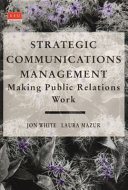 Strategic Communications Management