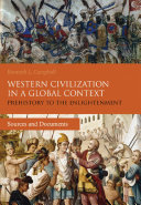 Western Civilization in a Global Context: Prehistory to the Enlightenment Book