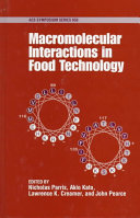 Macromolecular Interactions In Food Technology Book PDF