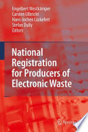 National Registration for Producers of Electronic Waste Book