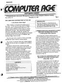 Computer Age  Software Digest