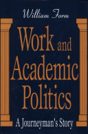 Work and Academic Politics [Pdf/ePub] eBook