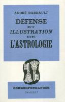 Défense et illustration de l'Astrologie
