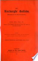 The Roxburghe Ballads Book PDF
