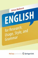 English for Research