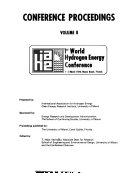Conference Proceedings [of The] 1st World Hydrogen Energy Conference, 1-3 March, 1976, Miami Beach, Florida
