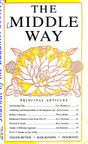 The Middle Way Book