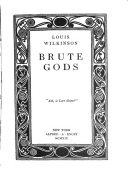 Brute Gods Book