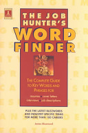 The Job Hunter s Word Finder