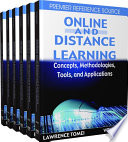 Online and Distance Learning: Concepts, Methodologies, Tools, and Applications