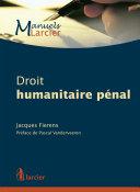 Droit humanitaire pénal