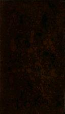 Die Geschichte und Nachrichten von Numidiern, Mauritaniern, Getuliern, Garamanten, Ammoniern, Cyrenäern, der Einwohnern der Syrtischen Landschaft, Aethiopiern und Spaniern der ältesten und mittleren Zeiten