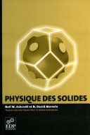 Physique des solides Pdf/ePub eBook
