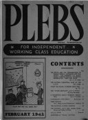 The Plebs Book