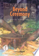 Beyond Ceremony Book