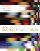 Introduction To Statistics And Data Analysis Book PDF