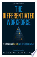 The Differentiated Workforce Book
