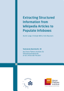 Extracting Structured Information from Wikipedia Articles to Populate Infoboxes