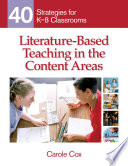 Literature Based Teaching in the Content Areas Book