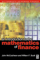 An Introduction to the Mathematics of Finance Book PDF