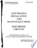 Electronics Installation and Maintenance Book, Electronics Circuits