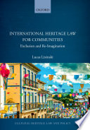 International Heritage Law For Communities