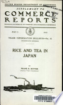 Rice And Tea In Japan