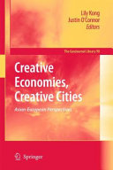 Creative Economies  Creative Cities