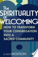 The Spirituality of Welcoming Book PDF