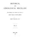 Historical and Genealogical Miscellany