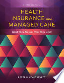 Health Insurance And Managed Care Book PDF