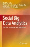 Social Big Data Analytics Book