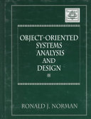 Object oriented Systems Analysis and Design Book