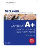 CompTIA A+ Core 1 (220-1001) and Core 2 (220-1002) Cert Guide Pdf/ePub eBook