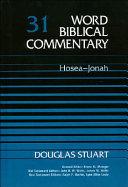 Hosea Jonah