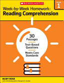 Week-By-Week Homework: Reading Comprehension Grade 1