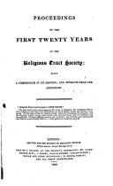 Proceedings of the First 20 Years of the Religious Tract Society